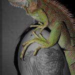фото тату игуана от 26.06.2018 №073 - tattoo of iguana - tatufoto.com