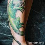 фото тату игуана от 26.06.2018 №076 - tattoo of iguana - tatufoto.com