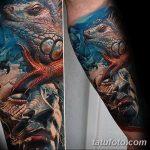 фото тату игуана от 26.06.2018 №090 - tattoo of iguana - tatufoto.com