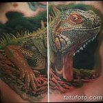 фото тату игуана от 26.06.2018 №097 - tattoo of iguana - tatufoto.com