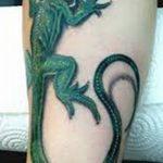 фото тату игуана от 26.06.2018 №105 - tattoo of iguana - tatufoto.com