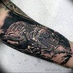 фото тату игуана от 26.06.2018 №108 - tattoo of iguana - tatufoto.com