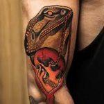 фото тату игуана от 26.06.2018 №112 - tattoo of iguana - tatufoto.com