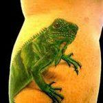фото тату игуана от 26.06.2018 №113 - tattoo of iguana - tatufoto.com