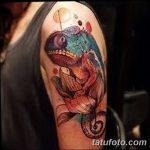 фото тату игуана от 26.06.2018 №118 - tattoo of iguana - tatufoto.com