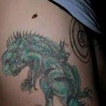 фото тату игуана от 26.06.2018 №120 - tattoo of iguana - tatufoto.com