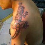 фото тату игуана от 26.06.2018 №130 - tattoo of iguana - tatufoto.com
