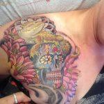 фото тату игуана от 26.06.2018 №133 - tattoo of iguana - tatufoto.com