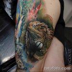 фото тату игуана от 26.06.2018 №141 - tattoo of iguana - tatufoto.com