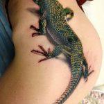фото тату игуана от 26.06.2018 №149 - tattoo of iguana - tatufoto.com