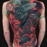 фото тату игуана от 26.06.2018 №151 - tattoo of iguana - tatufoto.com
