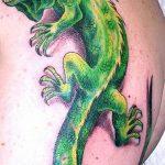 фото тату игуана от 26.06.2018 №152 - tattoo of iguana - tatufoto.com