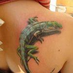 фото тату игуана от 26.06.2018 №154 - tattoo of iguana - tatufoto.com