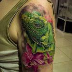 фото тату игуана от 26.06.2018 №162 - tattoo of iguana - tatufoto.com