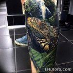 фото тату игуана от 26.06.2018 №163 - tattoo of iguana - tatufoto.com