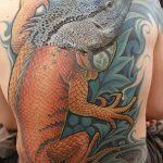 фото тату игуана от 26.06.2018 №164 - tattoo of iguana - tatufoto.com