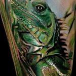 фото тату игуана от 26.06.2018 №165 - tattoo of iguana - tatufoto.com