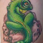 фото тату игуана от 26.06.2018 №169 - tattoo of iguana - tatufoto.com