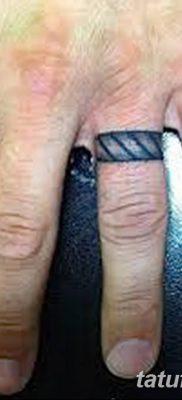 фото тату кольцо от 23.06.2018 №159 – ring tattoo – tatufoto.com
