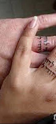 фото тату кольцо от 23.06.2018 №167 – ring tattoo – tatufoto.com