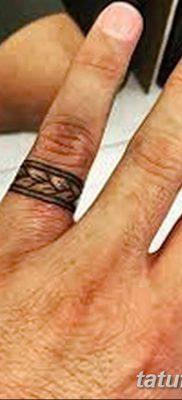 фото тату кольцо от 23.06.2018 №172 – ring tattoo – tatufoto.com