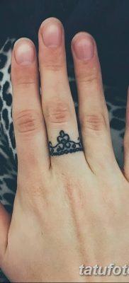 фото тату кольцо от 23.06.2018 №204 – ring tattoo – tatufoto.com