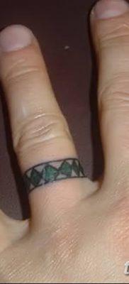 фото тату кольцо от 23.06.2018 №206 – ring tattoo – tatufoto.com