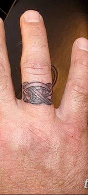 фото тату кольцо от 23.06.2018 №214 – ring tattoo – tatufoto.com