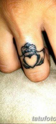 фото тату кольцо от 23.06.2018 №220 – ring tattoo – tatufoto.com