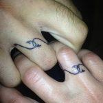 фото тату кольцо от 23.06.2018 №249 - ring tattoo - tatufoto.com