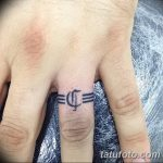 фото тату кольцо от 23.06.2018 №252 - ring tattoo - tatufoto.com