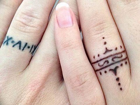 фото тату кольцо от 23.06.2018 №282 - ring tattoo - tatufoto.com