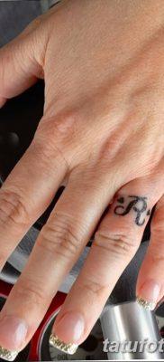фото тату кольцо от 23.06.2018 №312 – ring tattoo – tatufoto.com