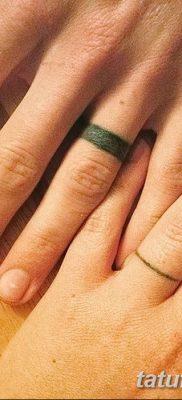 фото тату кольцо от 23.06.2018 №317 – ring tattoo – tatufoto.com