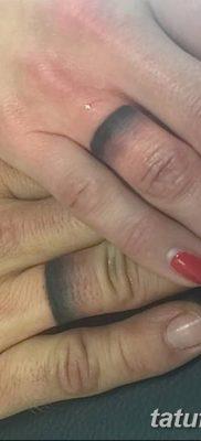 фото тату кольцо от 23.06.2018 №318 – ring tattoo – tatufoto.com