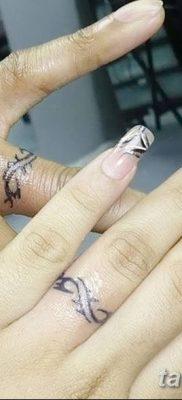 фото тату кольцо от 23.06.2018 №319 – ring tattoo – tatufoto.com