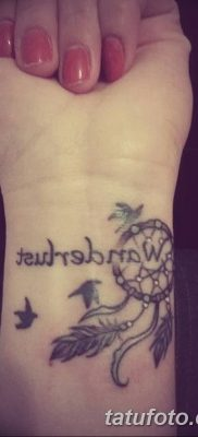 фото тату ловец снов для девушек от 18.06.2018 №177 – tattoo dream catcher – tatufoto.com