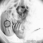 фото тату ловец снов для девушек от 18.06.2018 №186 - tattoo dream catcher - tatufoto.com