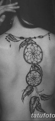 фото тату ловец снов для девушек от 18.06.2018 №199 – tattoo dream catcher – tatufoto.com