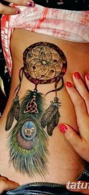 фото тату ловец снов для девушек от 18.06.2018 №283 – tattoo dream catcher – tatufoto.com
