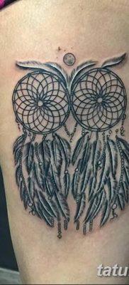 фото тату ловец снов для девушек от 18.06.2018 №284 – tattoo dream catcher – tatufoto.com
