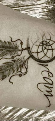 фото тату ловец снов для девушек от 18.06.2018 №286 – tattoo dream catcher – tatufoto.com