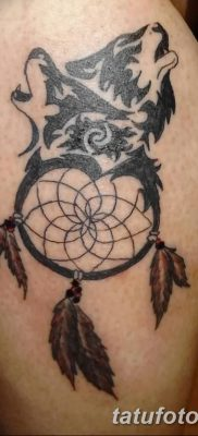 фото тату ловец снов для девушек от 18.06.2018 №293 – tattoo dream catcher – tatufoto.com