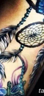 фото тату ловец снов для девушек от 18.06.2018 №294 – tattoo dream catcher – tatufoto.com