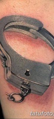 фото тату наручники от 25.06.2018 №016 — tattoo handcuffs — tatufoto.com