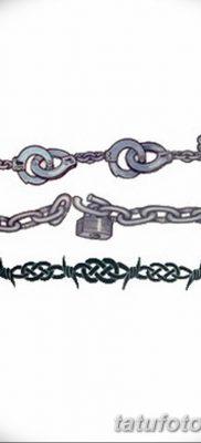фото тату наручники от 25.06.2018 №025 — tattoo handcuffs — tatufoto.com