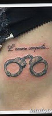 фото тату наручники от 25.06.2018 №071 — tattoo handcuffs — tatufoto.com