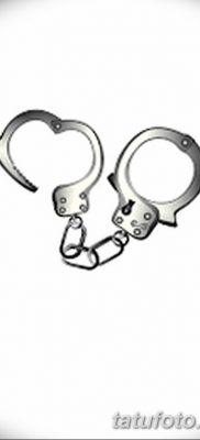 фото тату наручники от 25.06.2018 №080 – tattoo handcuffs – tatufoto.com