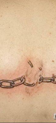 фото тату наручники от 25.06.2018 №085 — tattoo handcuffs — tatufoto.com