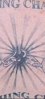 фото тату наручники от 25.06.2018 №087 — tattoo handcuffs — tatufoto.com